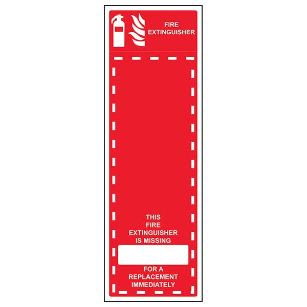 Fire Extinguisher Missing - Replace