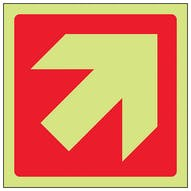 GITD Red Diagonal Arrow