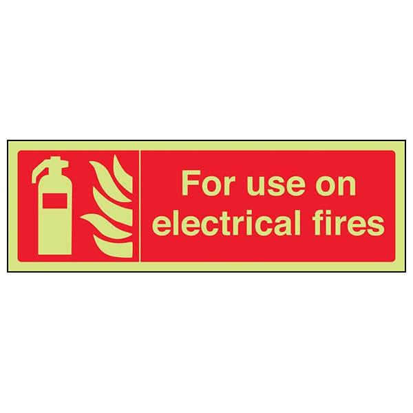 GITD For Use On Electrical Fires - Landscape
