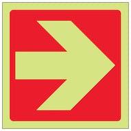 GITD Red Straight Arrow