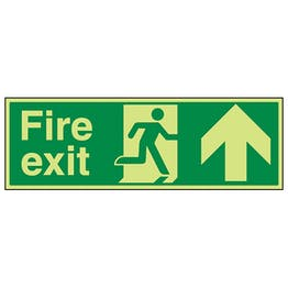 GITD Fire Exit Arrow Up