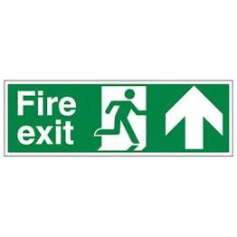 Eco-Friendly Fire Exit Arrow Up
