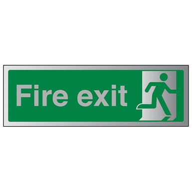 Aluminium Effect - Final Fire Exit Man Right