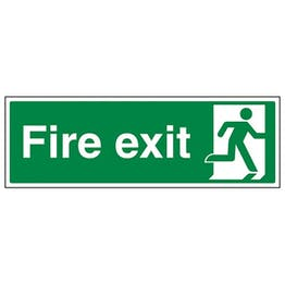 Eco-Friendly Final Fire Exit Man Right