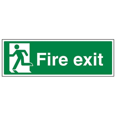 Final Fire Exit Man Left