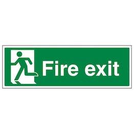 Eco-Friendly Final Fire Exit Man Left