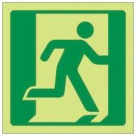 GITD Running Man Right Symbol