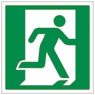 Running Man Right Logo