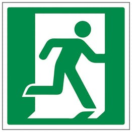 Eco-Friendly Running Man Right Symbol