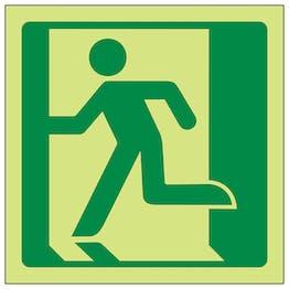 GITD Running Man Left Symbol