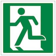 Running Man Left Logo