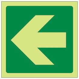 GITD Green Straight Arrow