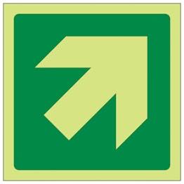 GITD Green Diagonal Arrow