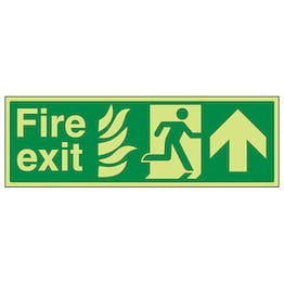 GITD NHS Fire Exit, Arrow Up