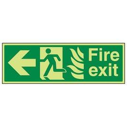 GITD NHS Fire Exit, Arrow Left