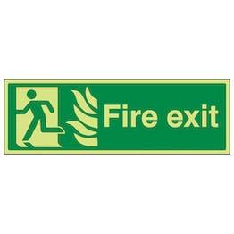 GITD NHS Fire Exit, Man Left