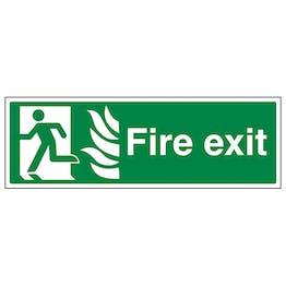 NHS Fire Exit Man Left