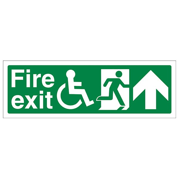 Disabled Fire Safety Signs