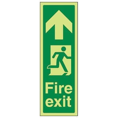 GITD Portrait Fire Exit Arrow Up