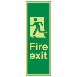 GITD Portrait Fire Exit Man Left