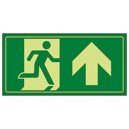 GITD Fire Exit Man Running Up
