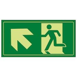 GITD Fire Exit Man Running Up Left