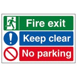 Fire Exit / Access Signs