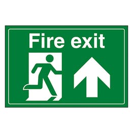 Fire Exit / Man Running / Up