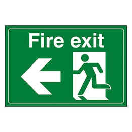 Fire Exit / Man Running / Left
