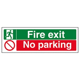 Fire Exit / No Parking