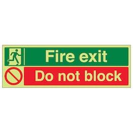 GITD Fire Exit / Do Not Block
