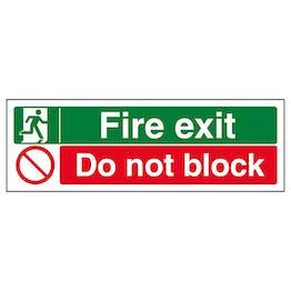 Fire Exit / Do Not Block