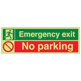 GITD Emergency Exit / No Parking