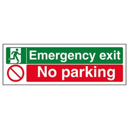 Emergency Exit / No Parking