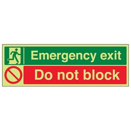 GITD Emergency Exit / Do Not Block