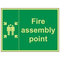 GITD Fire Assembly Point - Large Landscape
