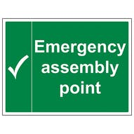 Emergency Assembly Point - Large Landscape