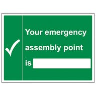 Your Emergency Assembly Point  - Large Landscape