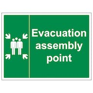 Evacuation Assembly Point - Large Landscape