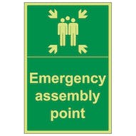 GITD Emergency Assembly Point - Portrait