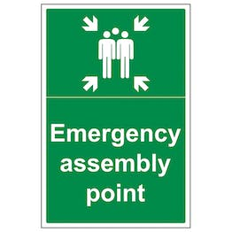 Emergency Assembly Point with Family - Portrait