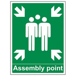 Eco-Friendly Assembly Point With Family