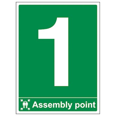 Assembly Point With Number