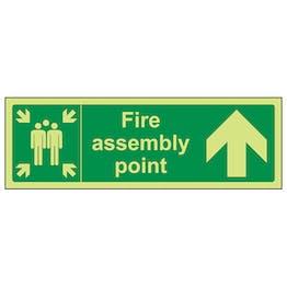 GITD Fire Assembly Point, Arrow Up