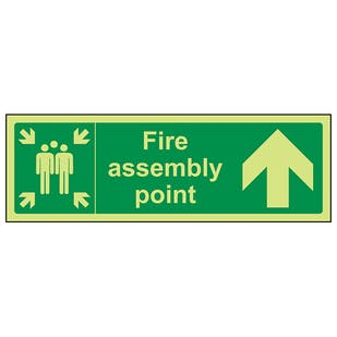 GITD Fire Assembly Point, Arrow Up
