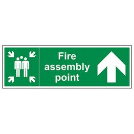 Fire Assembly Point Arrow Up