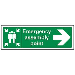 Emergency Assembly Point Arrow Right