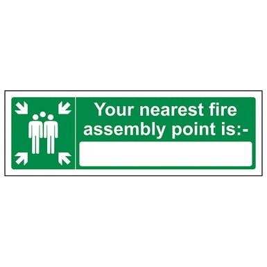 Your Nearest Fire Assembly Point Is