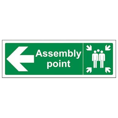 Assembly Point Arrow Left