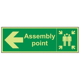 GITD Assembly  Point, Arrow Left